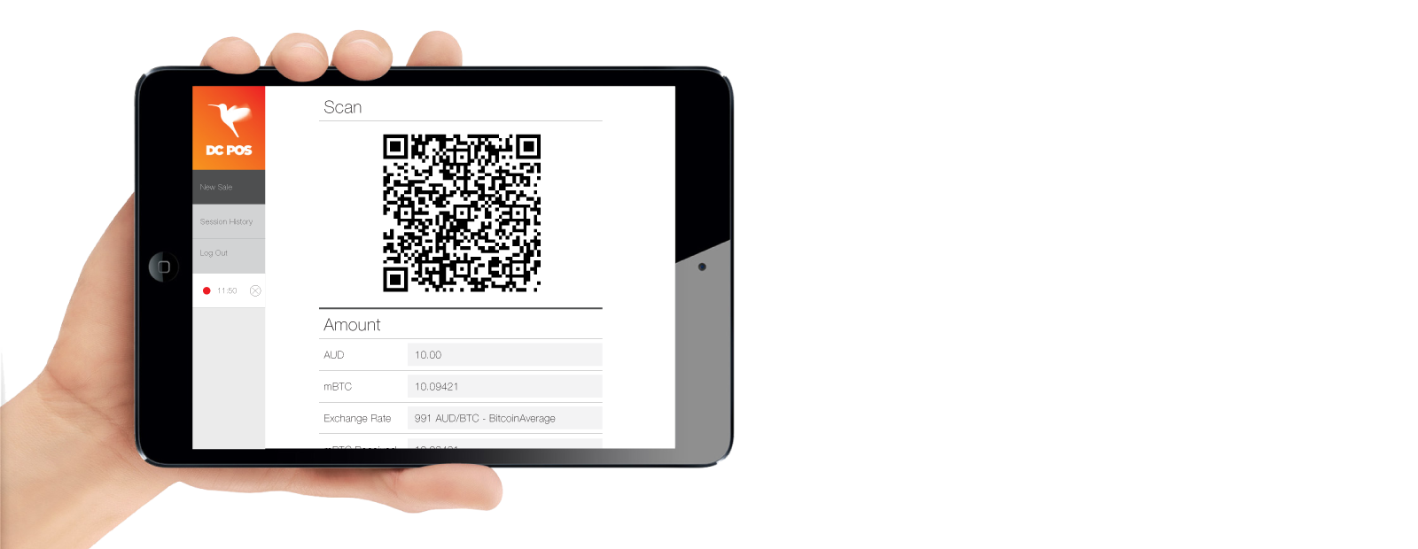 DC POS app sold for Bitcoin